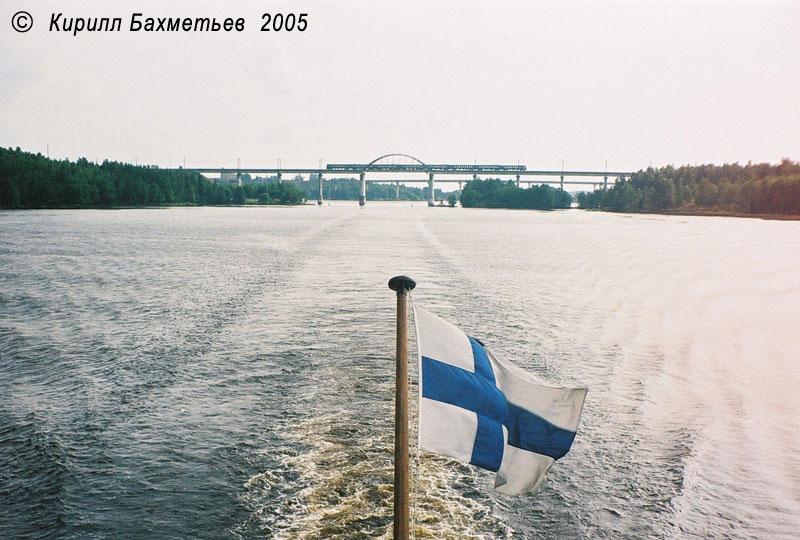 Мосты через пролив Кивисиллансалми