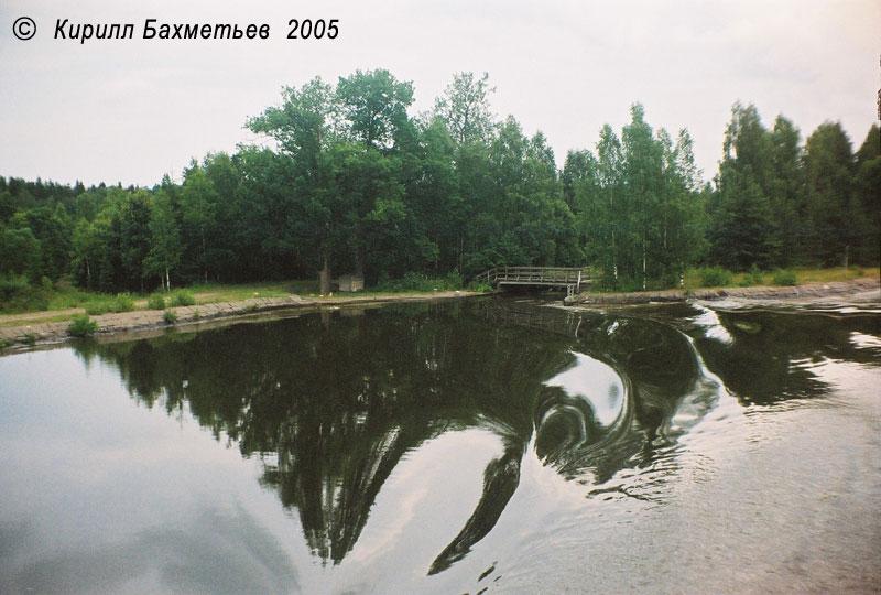 Мост через старое русло Сайменского канала