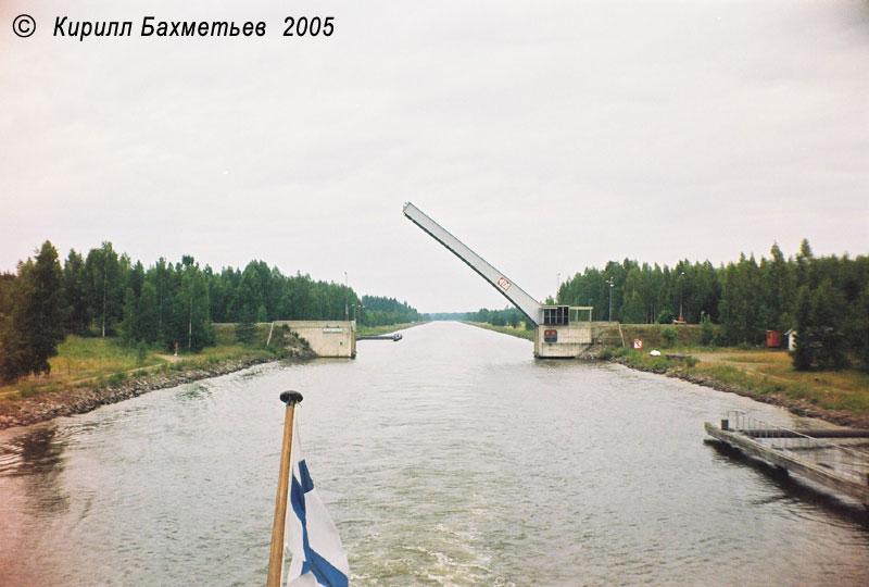 Разводной мост через Сайменский канал