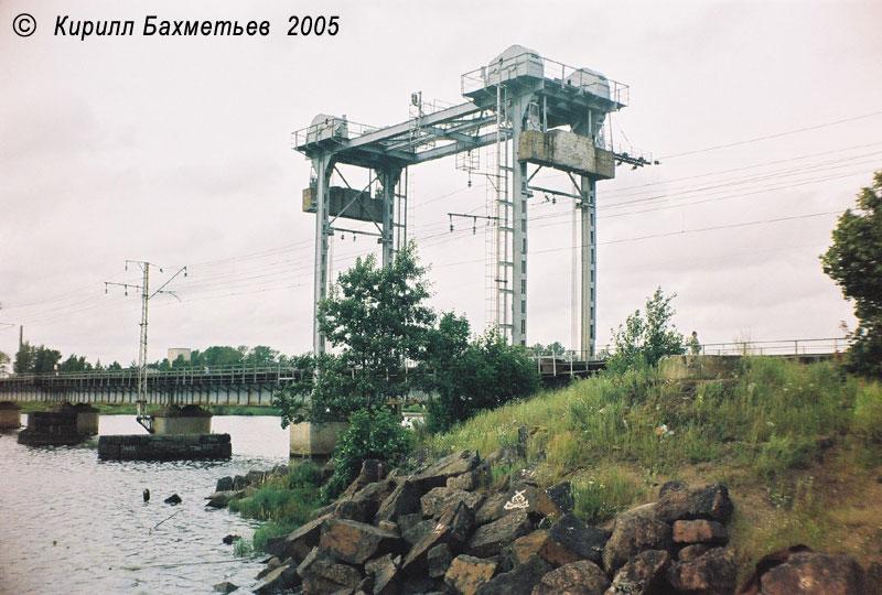 Железнодорожный мост через Замковый пролив