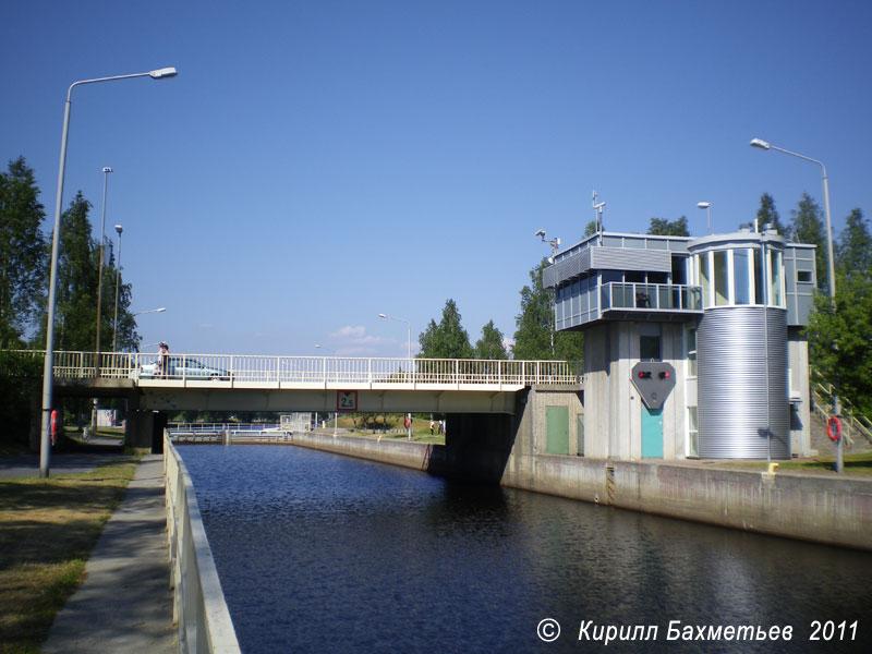 Разводной мост на Йоэнсуском шлюзе