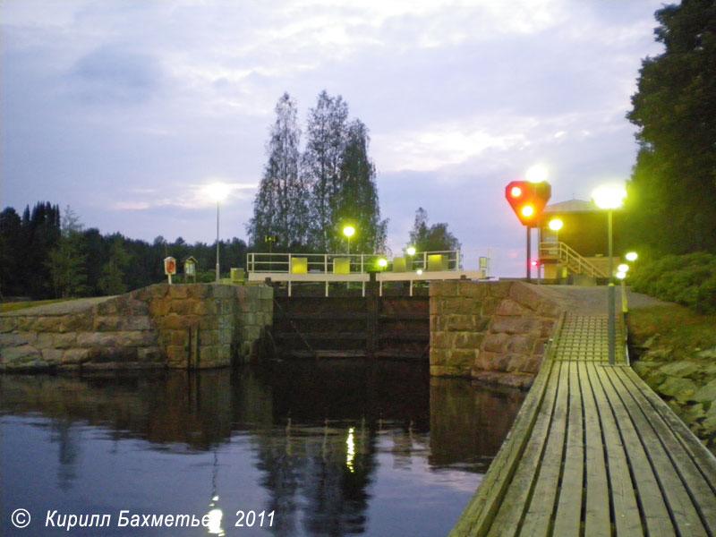Шлюз на Карвиоском канале