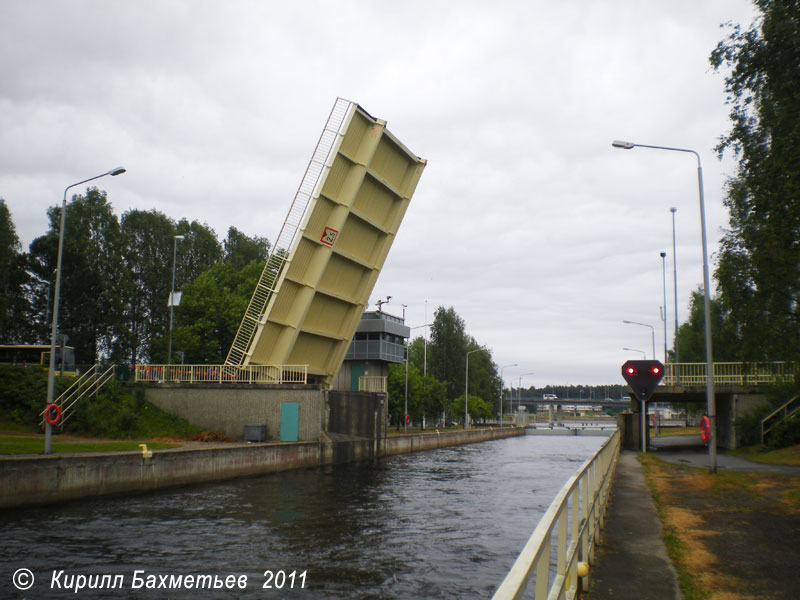 Йоэнсуский шлюз и разводной мост