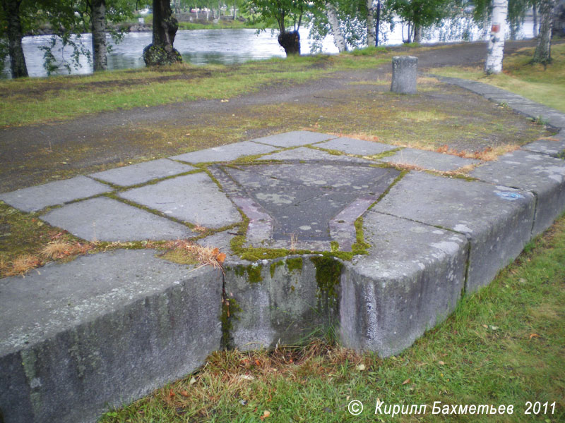 Остатки старого Йоэнсуского шлюза