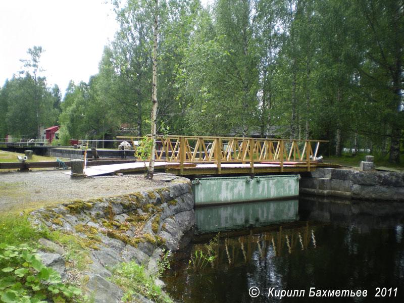 Наплавной мост через Якокоскинский канал