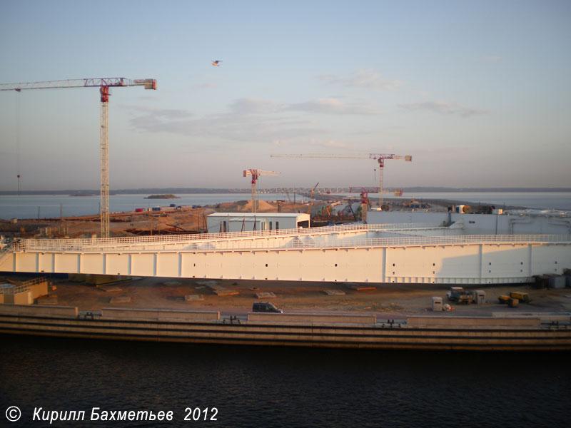 Южный затвор судопропускного сооружения С-1