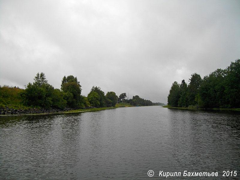 Устье Новосясьского канала