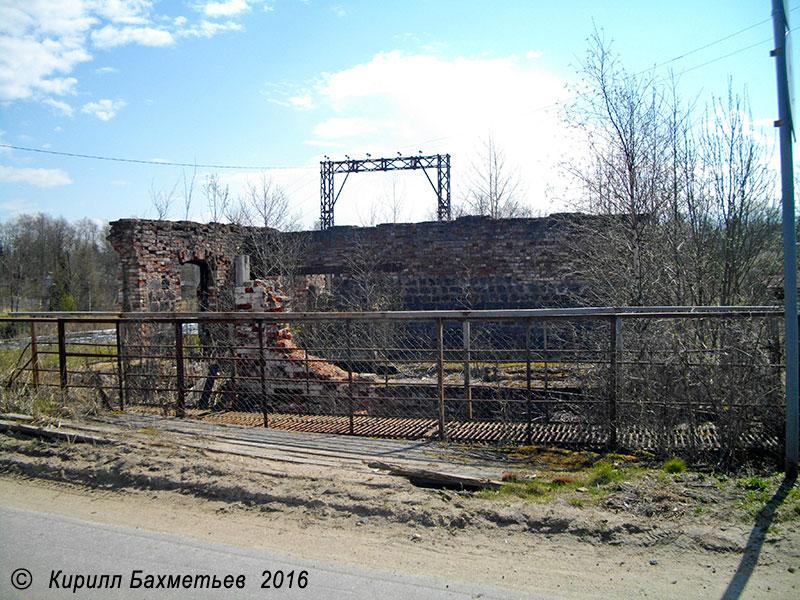 Развалины Даймищенской гидроэлектростанции