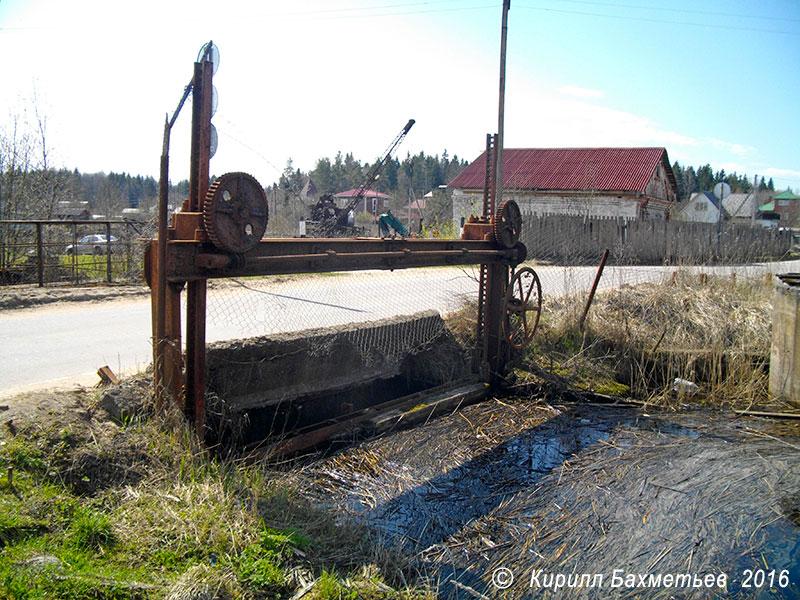 Плотина Даймищенской гидроэлектростанции